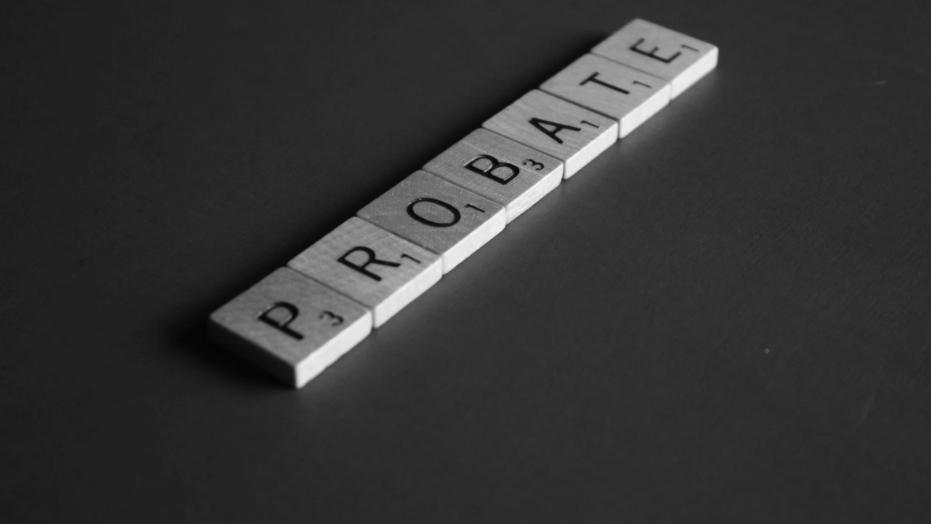 "Scrabble letters spelling ""Probate"". Photo by Melinda Gimpel on Unsplash"